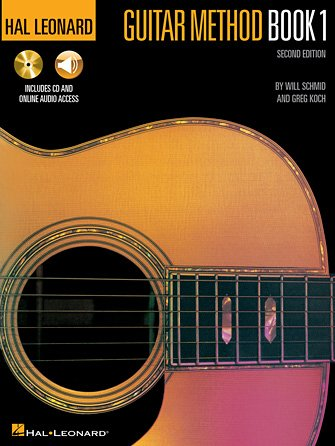 Hal Leonard Guitar Method Book 1 (with audio)