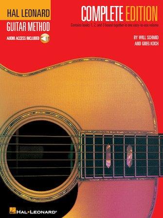 Hal Leonard Complete Guitar Method (with audio)