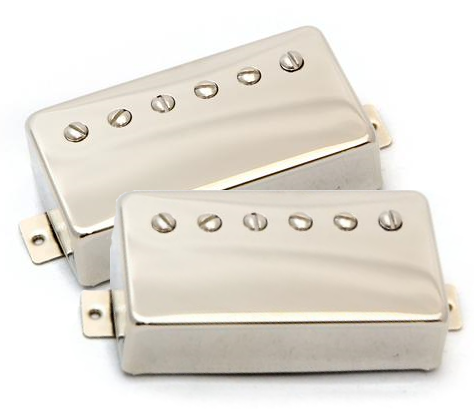 Porter Pickups Smooth-Classic Humbucker Set Chrome Cover
