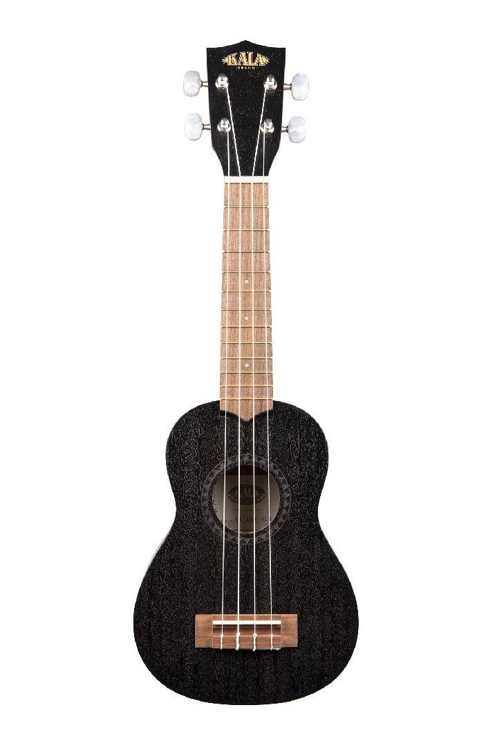 Kala KA-15S-BLK Black Satin Mahogany Soprano Ukulele