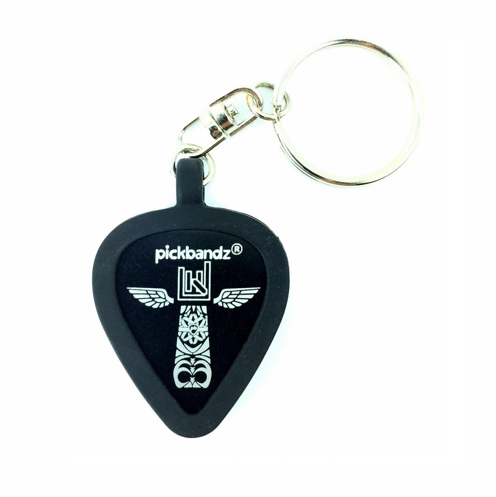 Pickbandz Epic Black Keychain