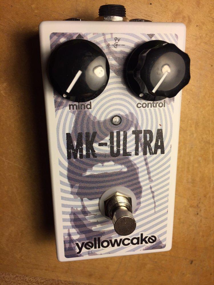 Yellowcake MK-Ultra Octave Fuzz Pedal