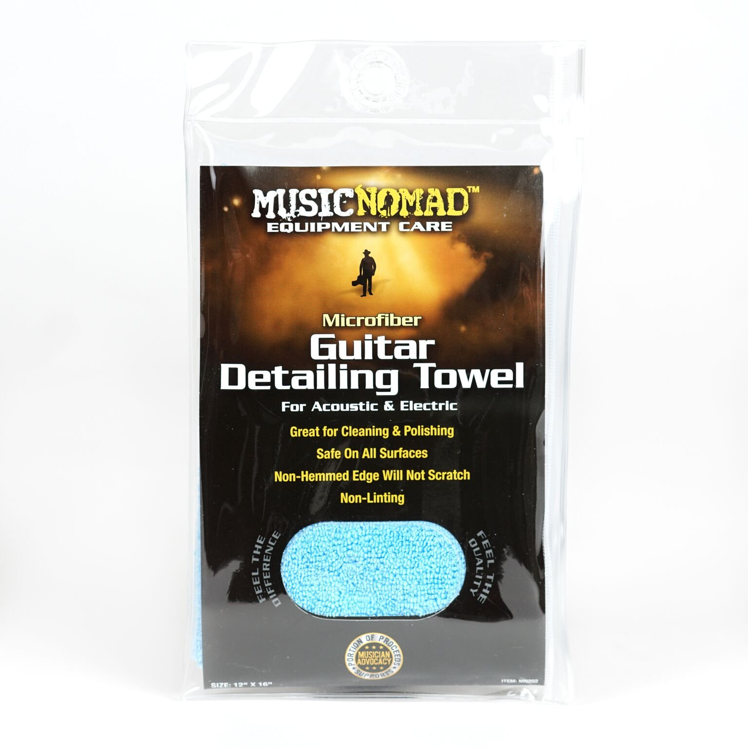 Music Nomad Microfiber Guitar Polishing Cloth