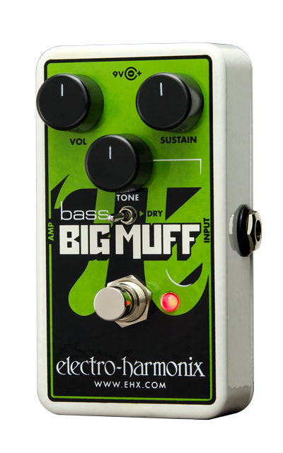 Electro Harmonix Nano Bass Big Muff Distortion