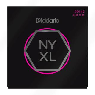 D'Addario NYXL0942 Nickel Wound Electric Guitar Strings Super Light 9-42