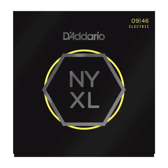 D'Addario NYXL0946 Nickel Wound Electric Guitar Strings Super Light Top / Regular Bottom 9-46