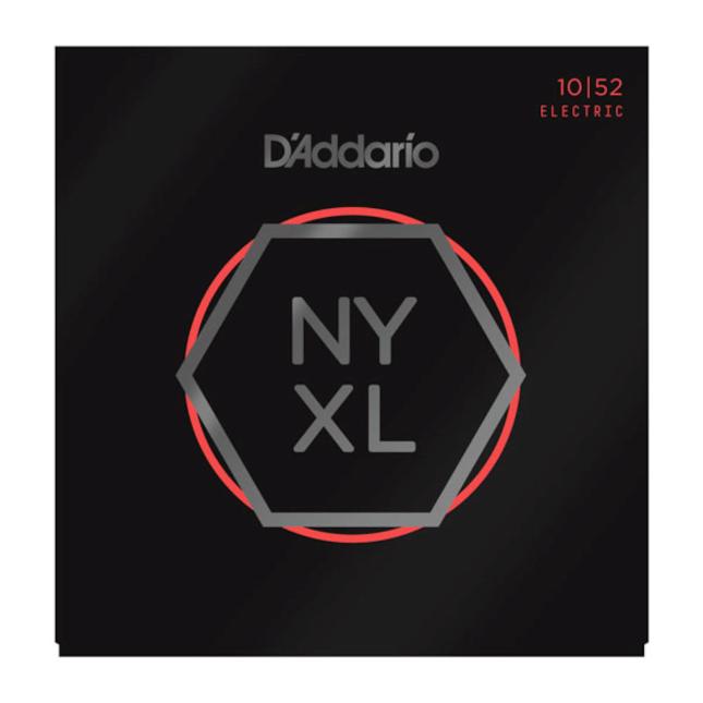 D'Addario NYXL1052 Nickel Wound Electric Guitar Strings Light Top / Heavy Bottom 10-52