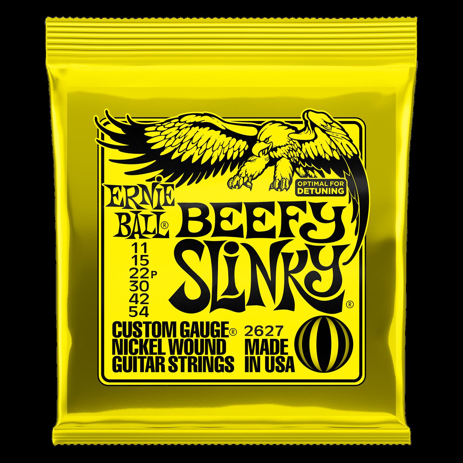 Ernie Ball Beefy Slinky Strings