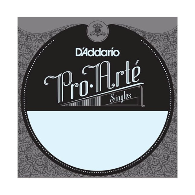 D'Addario J4504 Pro-Arte Nylon Classical Guitar Single String, Normal Tension, Fourth String