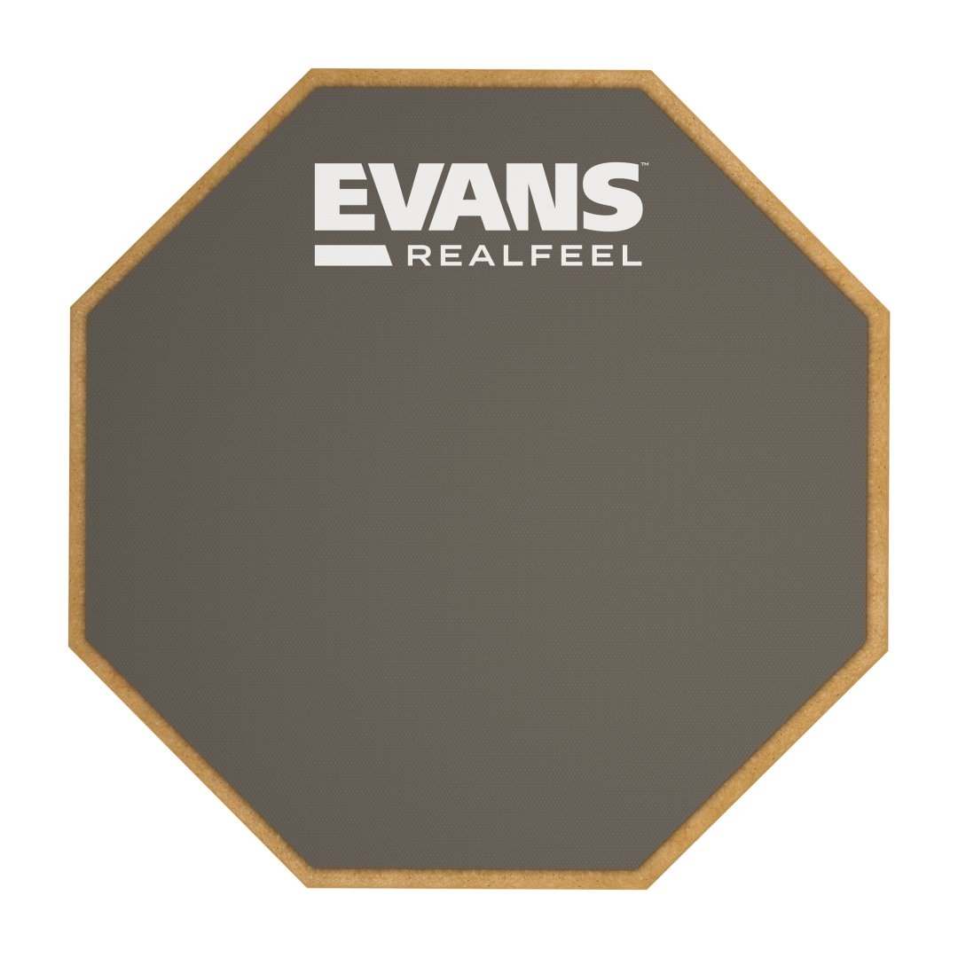 Evans RealFeel RF12D 12 Inch Double Sided Practice Pad