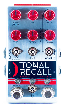 Chase Bliss Audio Tonal Recall RKM Red Knob Mod Analog Delay
