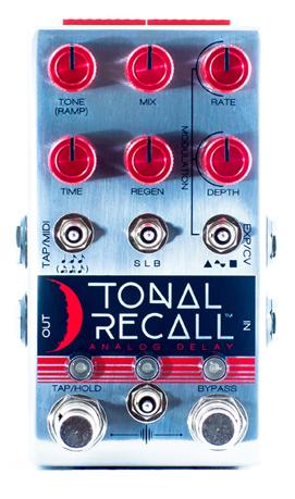 Chase Bliss Audio Tonal Recall RKM Red Knob Mod Analog Delay