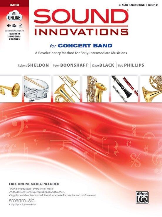 Sound Innovations Book 2 Alto Saxophone