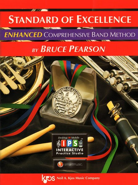 Standard of Excellence Baritone Tenor Clef Book 1 Enhanced