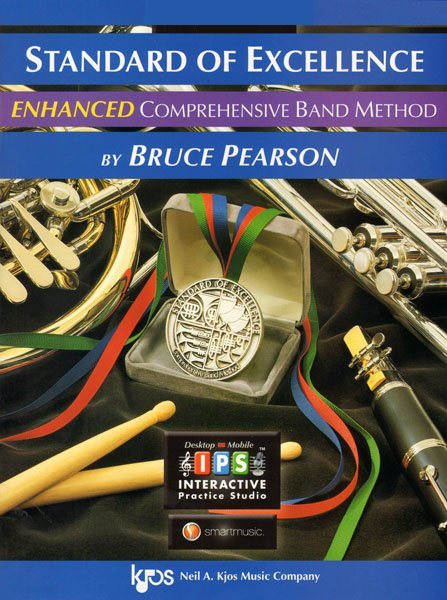 Standard of Excellence Tenor Saxophone Book 2 Enhanced