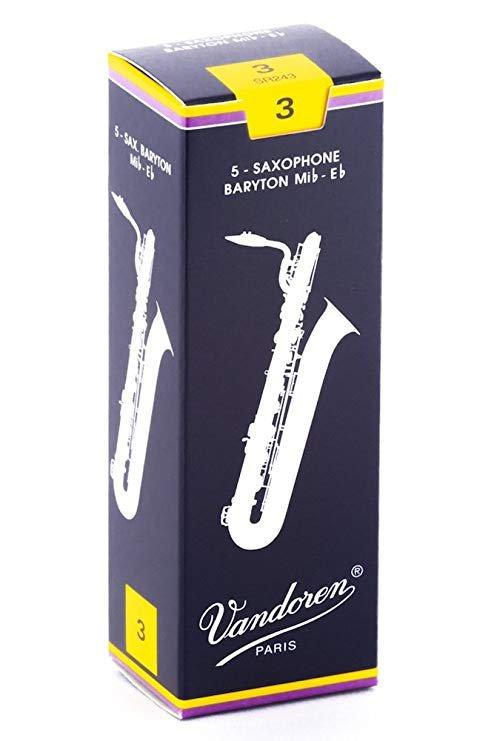 Vandoren SR243 Baritone Saxophone Reed Size 3 (Box of 5)