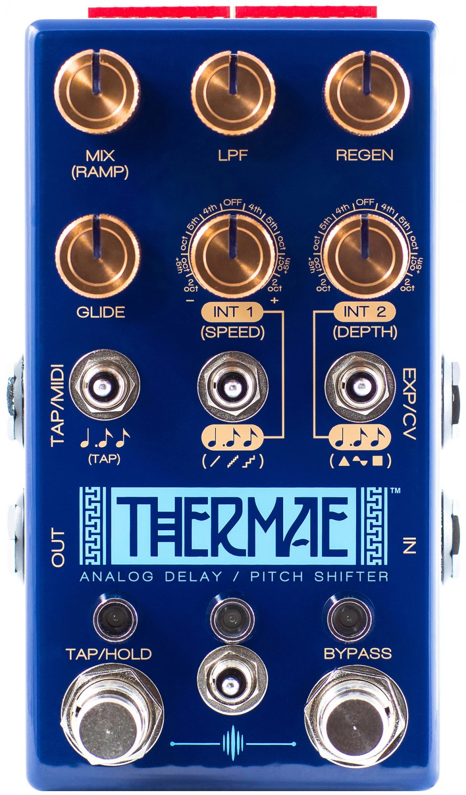Chase Bliss Audio Thermae Harmonized Delay
