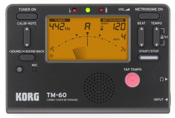 Korg TM60 Metronome/Tuner
