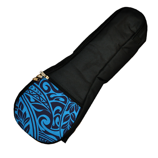 Kala UB-BL Blue Tribal Ukulele Gig Bag