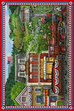 Sweet Land of Liberty DP21642-24 panel