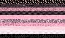Medley Fancy Cats Strip fabric panel