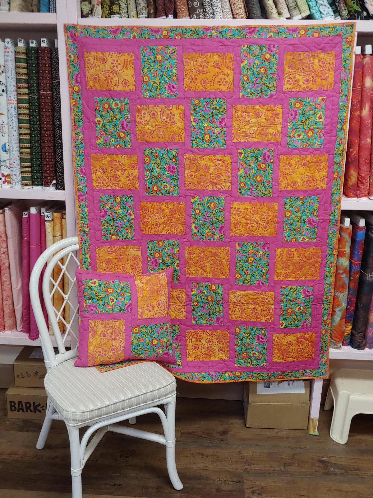 Julie' Weave Away Quilt Pattern