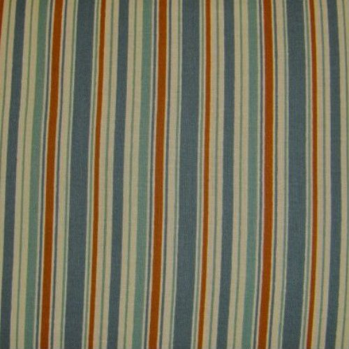 Bandana Beauties Deck Chair Stripe Blue & Brown - 03173-35