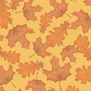 Autumn Festival Oak Leaves Rust - 45318-T