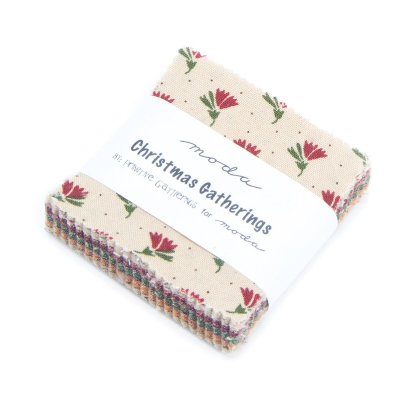 Christmas Gatherings Mini Charm- 42- 2 .5 Candy Squares