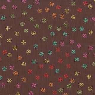 Sewing Box Snaps Chocolate 10017 13