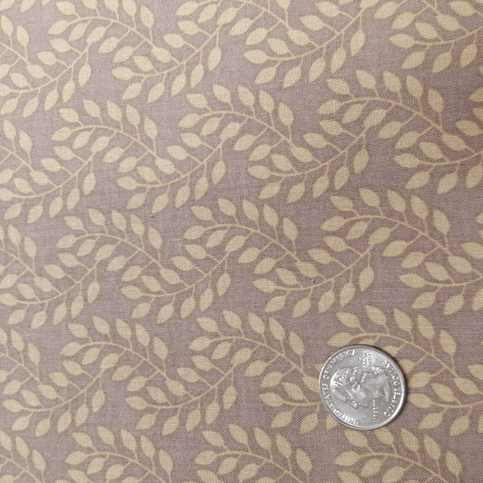 Flourish Leaves in Dark Taupe - 3240207-01