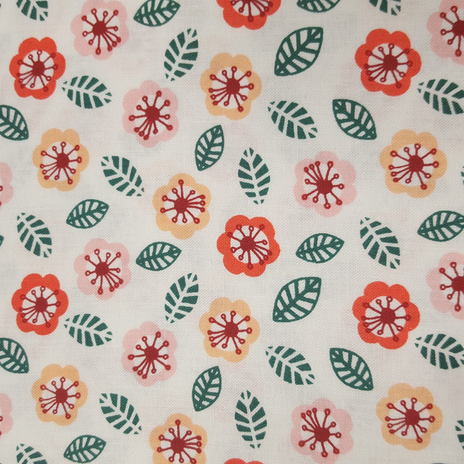 Printed Cotton Flowers - 9140504 02