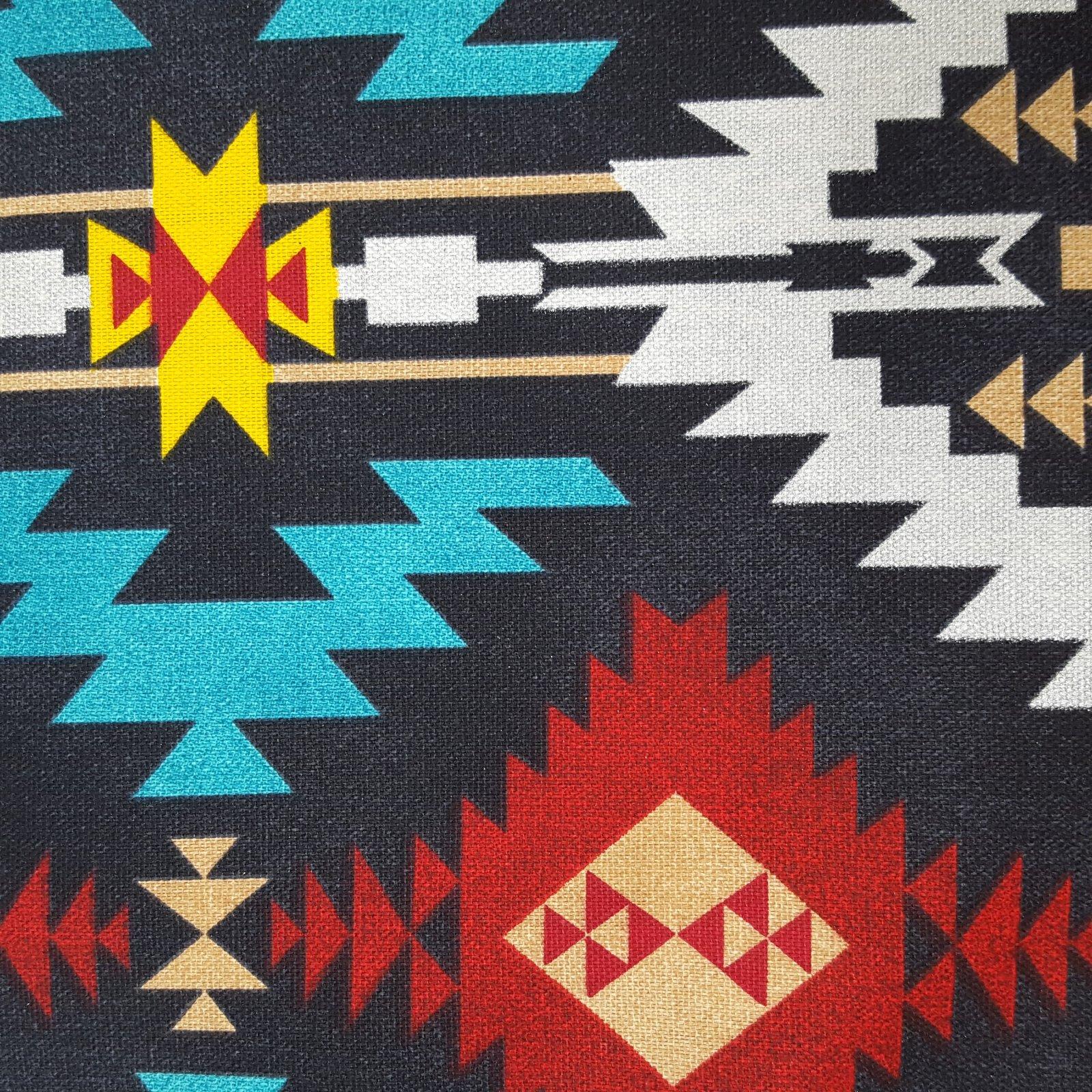 Cotton Prints 43830-5 - Native Charcoal