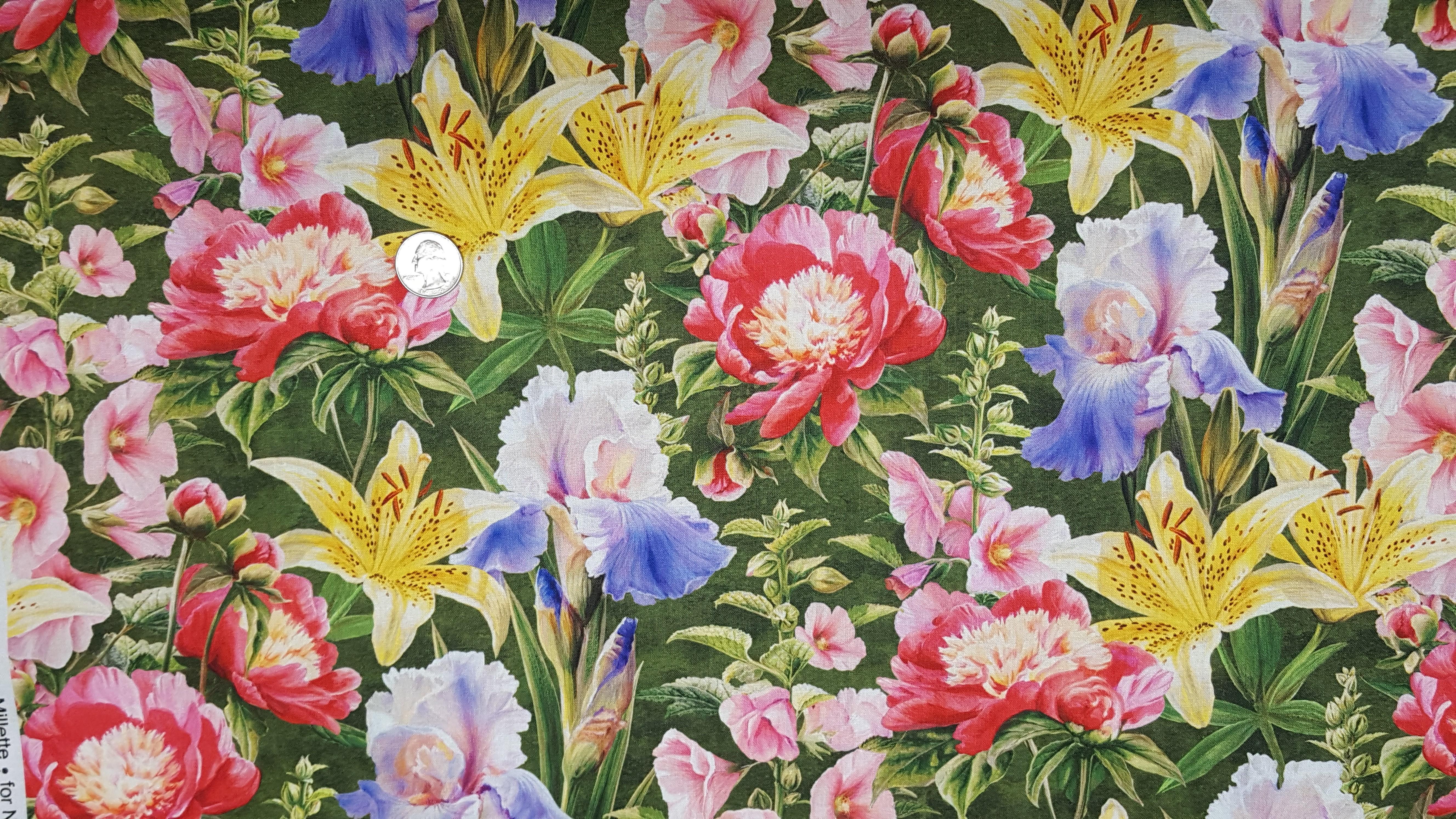 Naturescapes Morning Song<br>Flower Garden - DP22749-76