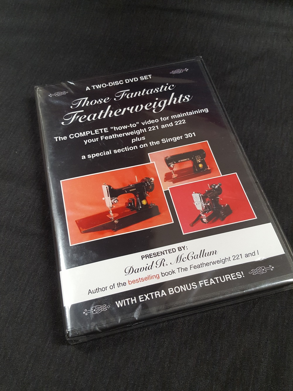 Those Fantastic Featherweights Maintenance DVD
