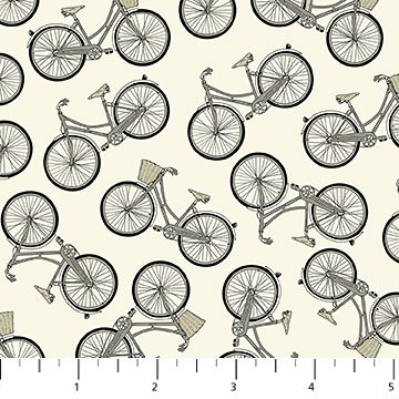 Hipster on the Go Bicycles - 21416-11 CREAM