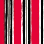 Canvas Stripe Red - 1649-22810-R