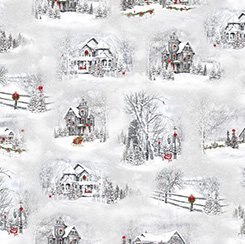 Home for the Holiday - Winter Scenic Vignettes -1649-25897-K