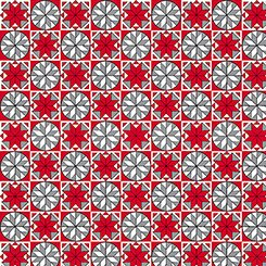 Home for the Holiday - Snowflake Tiles - 1649-25900-RK
