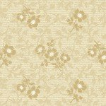 American Beauty Floral Texture Beige