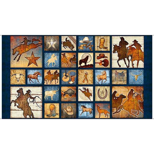 Mustang Sunset by Dan Morris for Quilting Treasures : quilting treasures free patterns - Adamdwight.com