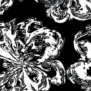 Blossom Batiks Marble Flower Starling - 2805-001