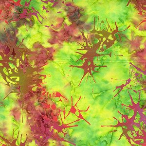 Blossom Batiks Splatter Lovebird - 2810-003