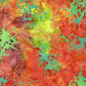 Blossom Batiks Splatter Sun Conure - 2810-004