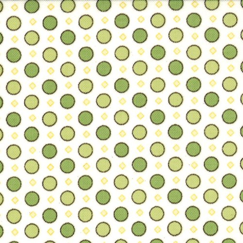 Windsor Lane Dots Green - 2845-13
