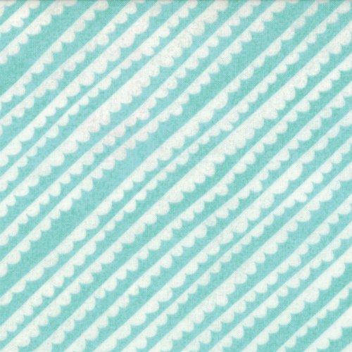 Aspen Frost Iced Aqua Stripe - 30337 11