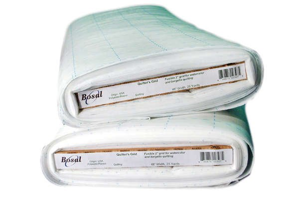 2.5 Fusible Grid Interfacing 327 C Bosal