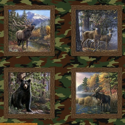 The Great Outdoors  ~36 Panel - 43304D-X