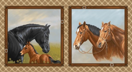 Hold Your Horses 4382-33 - Big Blocks 24x 44