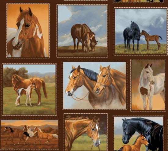 Hold Your Horses 4383-33 - Small Horse Blocks